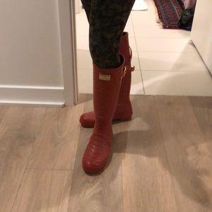 Jimmy Choo for Hunter boots, rain boots